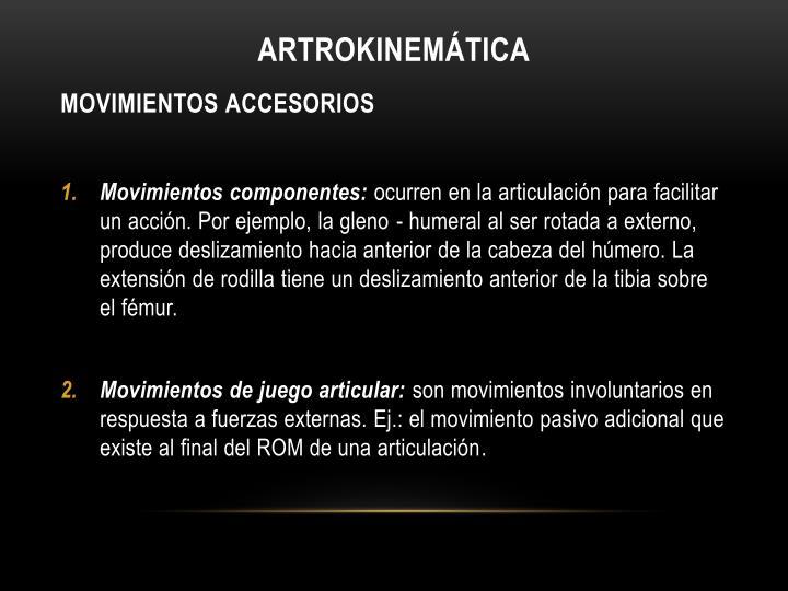 Artrokinemática