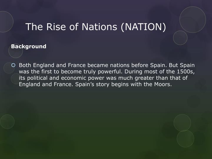 The rise of nations nation1