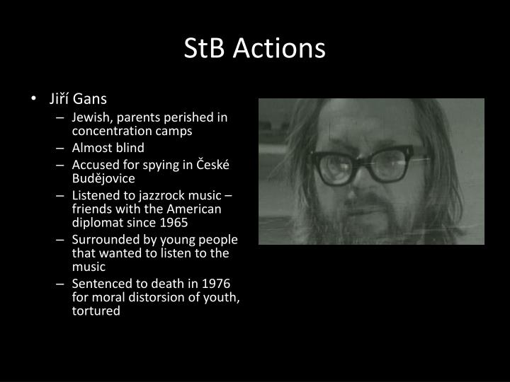 StB Actions