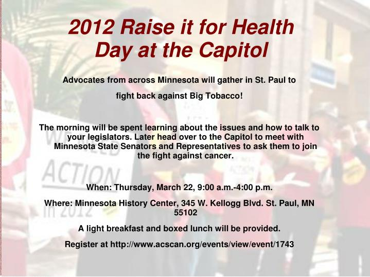 Advocates from across Minnesota will gather in St. Paul to