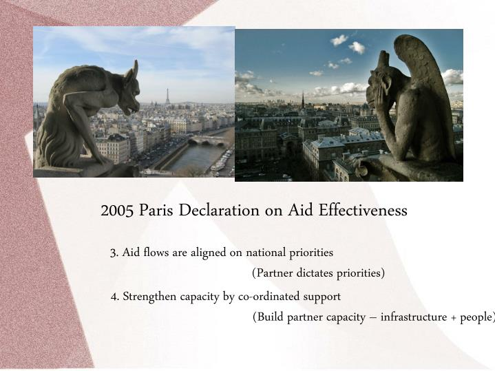 2005 Paris Declaration on Aid Effectiveness