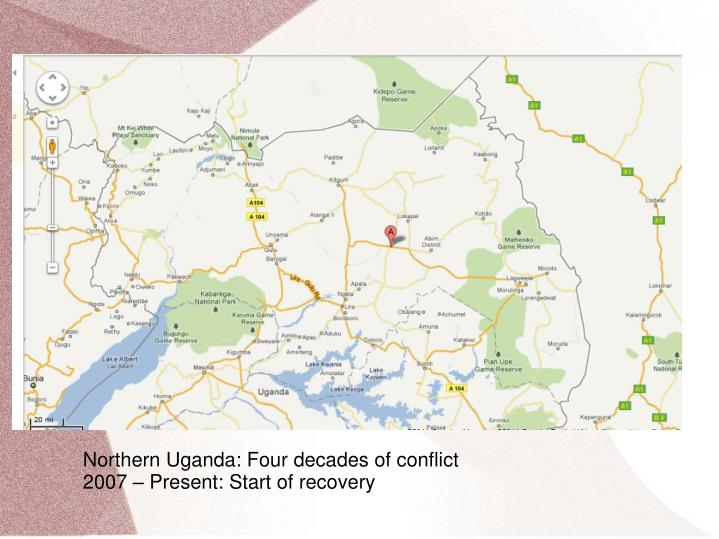 Northern Uganda: Four decades of conflict