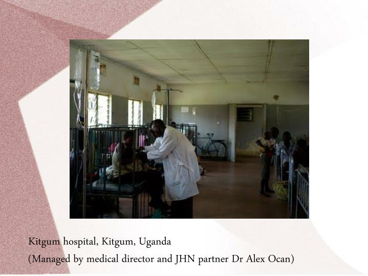 Kitgum hospital, Kitgum, Uganda