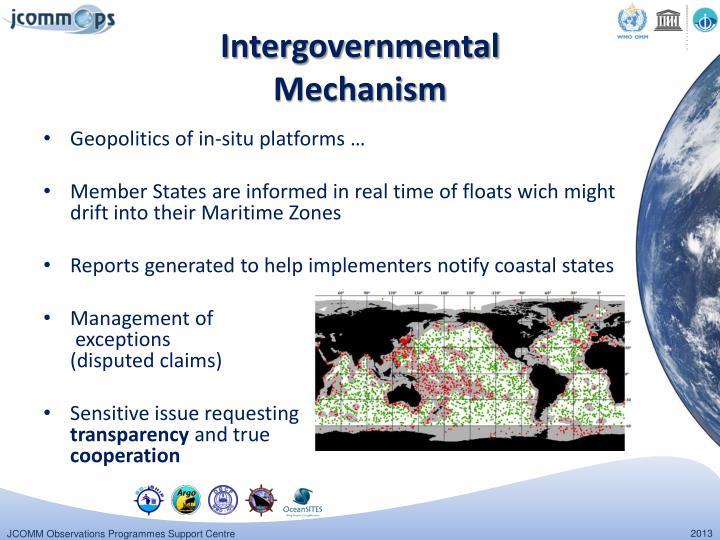 Intergovernmental