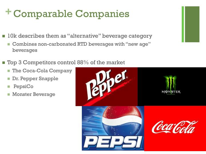 Comparable Companies