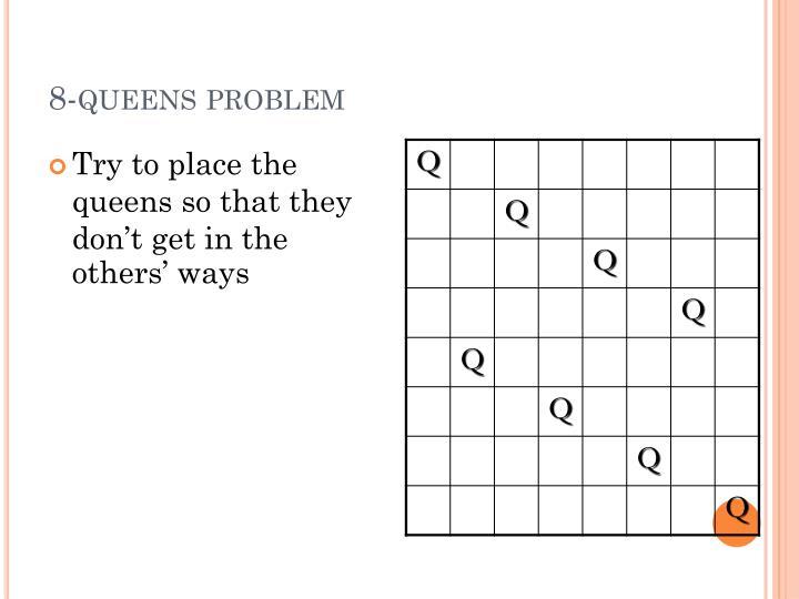 8-queens problem