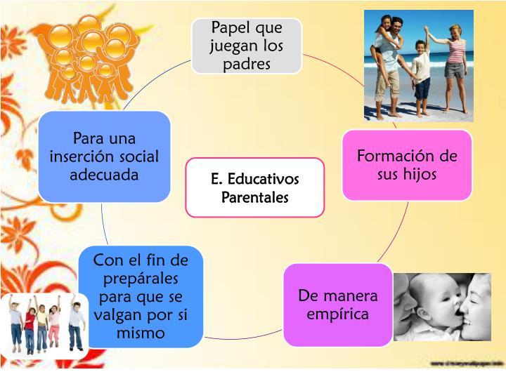 E. Educativos Parentales