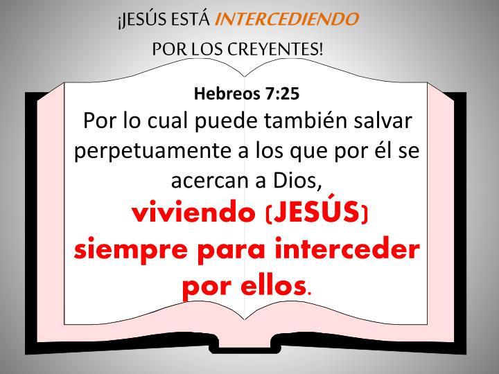 ¡JESÚS ESTÁ