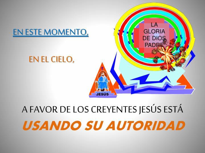 LA GLORIA DE DIOS PADRE
