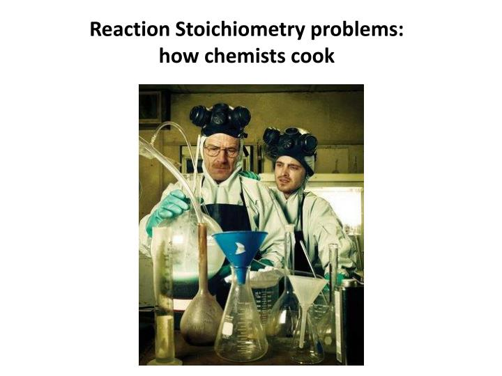Reaction Stoichiometry problems: