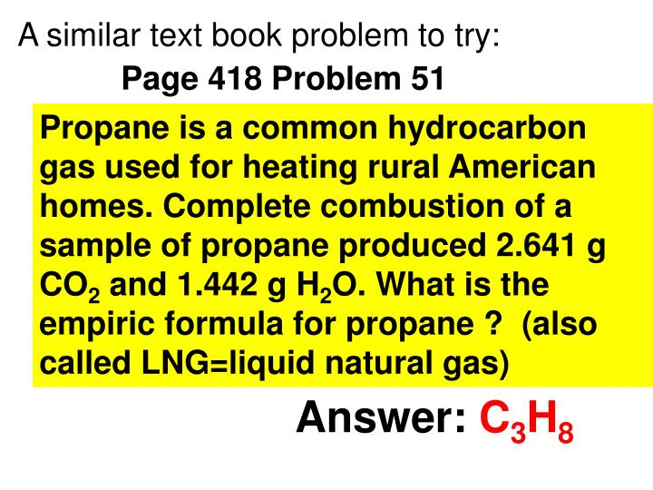 A similar text book problem to try: