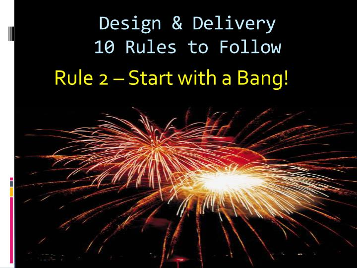 Design & Delivery