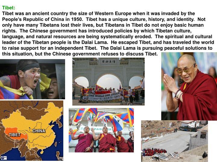 Tibet: