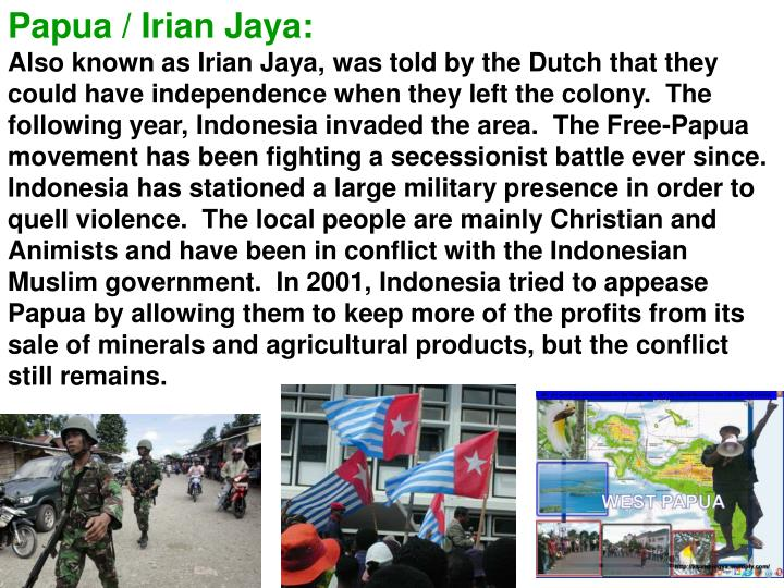 Papua / Irian Jaya: