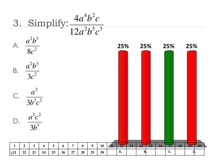 3.  Simplify: