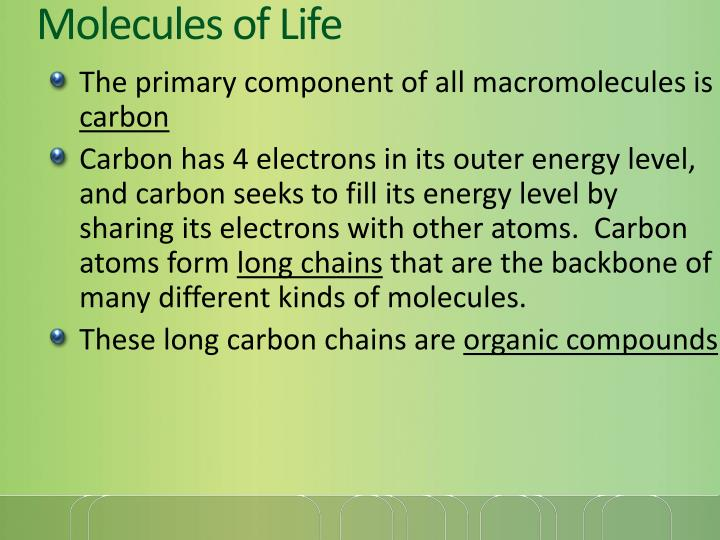 Molecules of life1