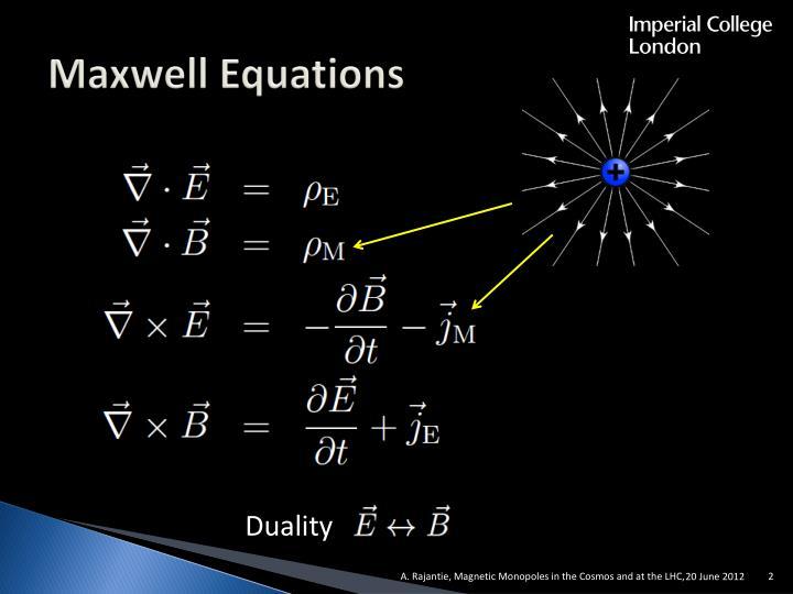 Maxwell Equations