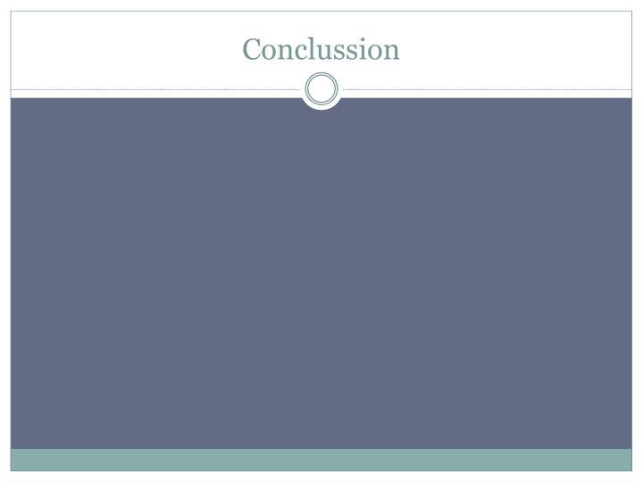Conclussion