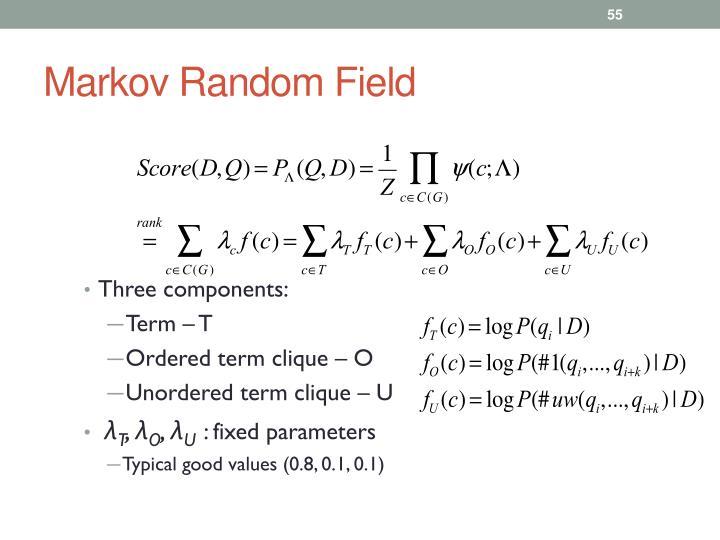 Markov Random Field