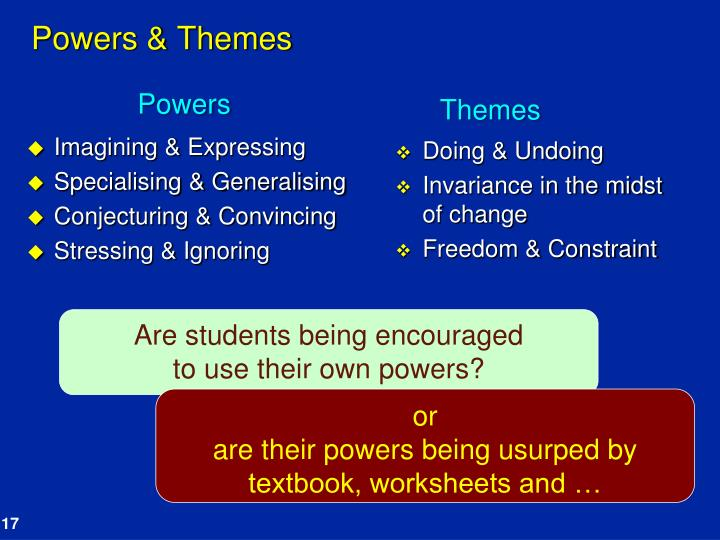 Powers & Themes