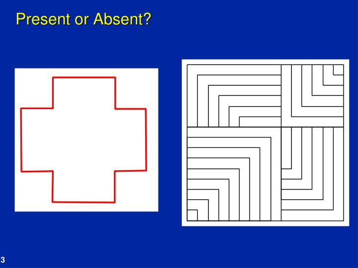 Present or absent