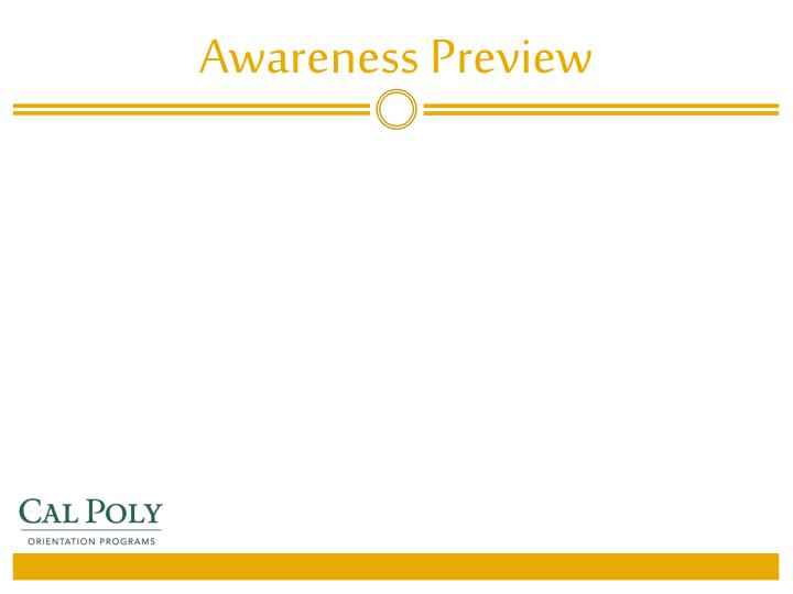 Awareness Preview