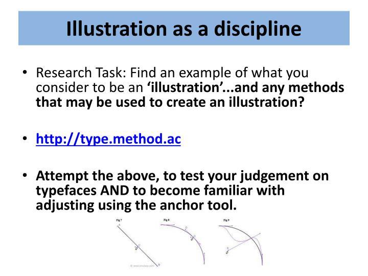 Illustration as a discipline