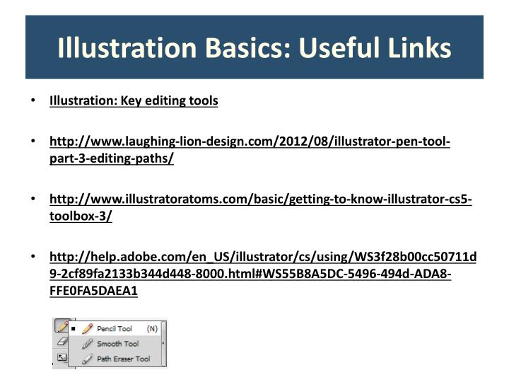 Illustration Basics: Useful Links