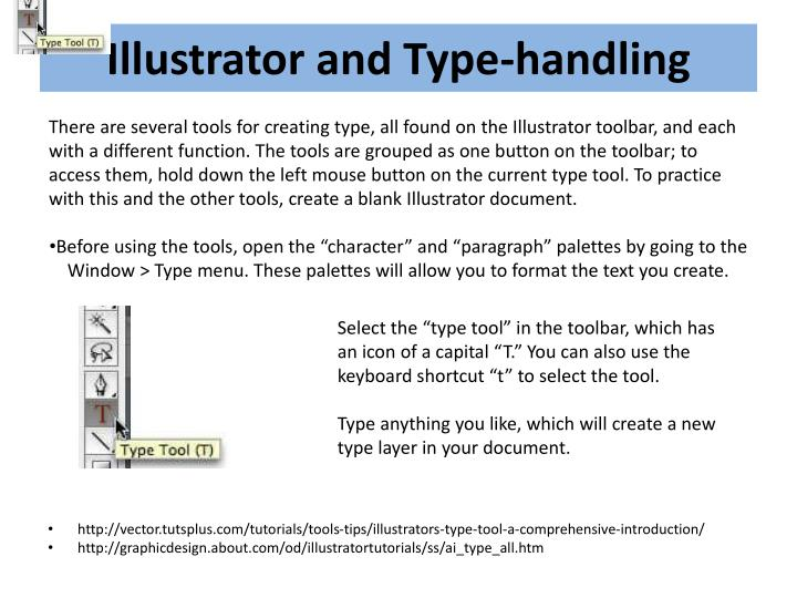 Illustrator and Type-handling