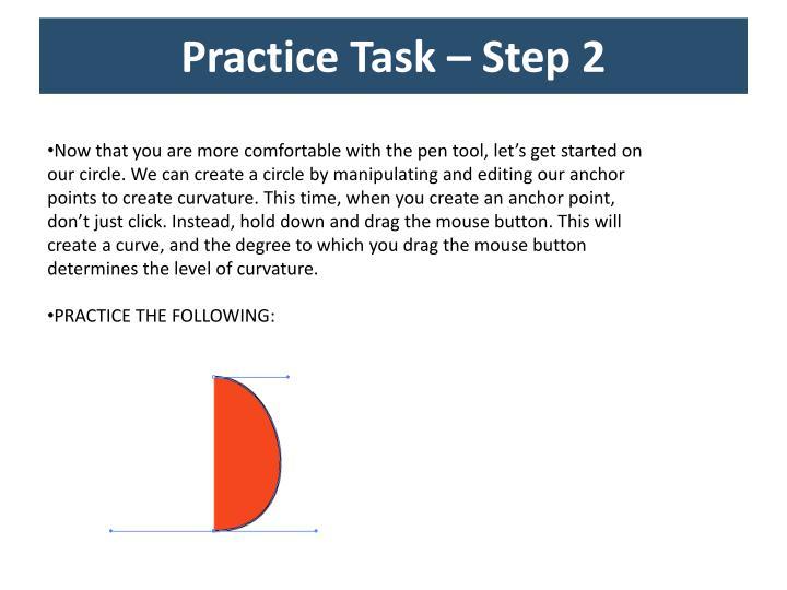 Practice Task – Step 2