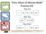 time value of money math practice 31