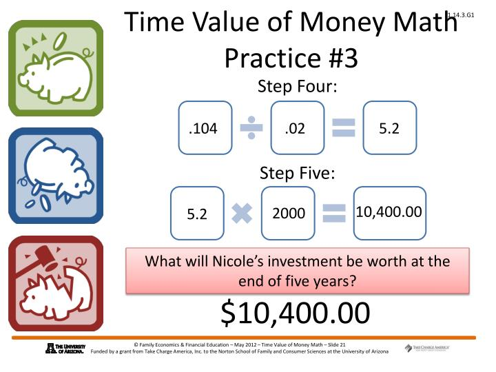 Time Value of Money Math Practice #3