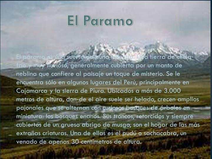 El Paramo