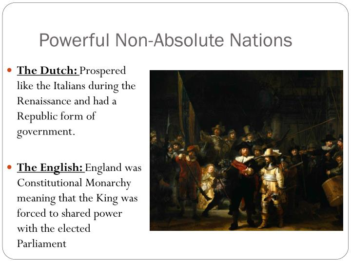 Powerful Non-Absolute Nations