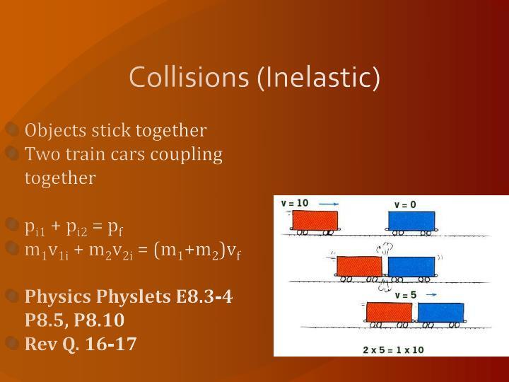 Collisions (Inelastic)