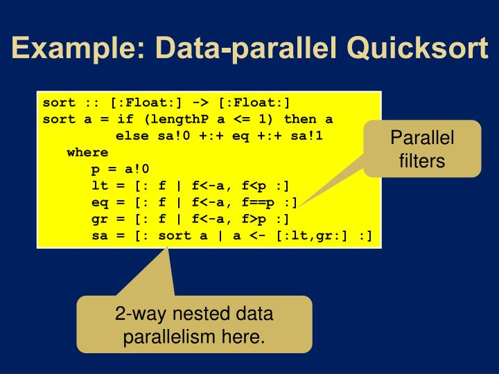 Example: Data-parallel