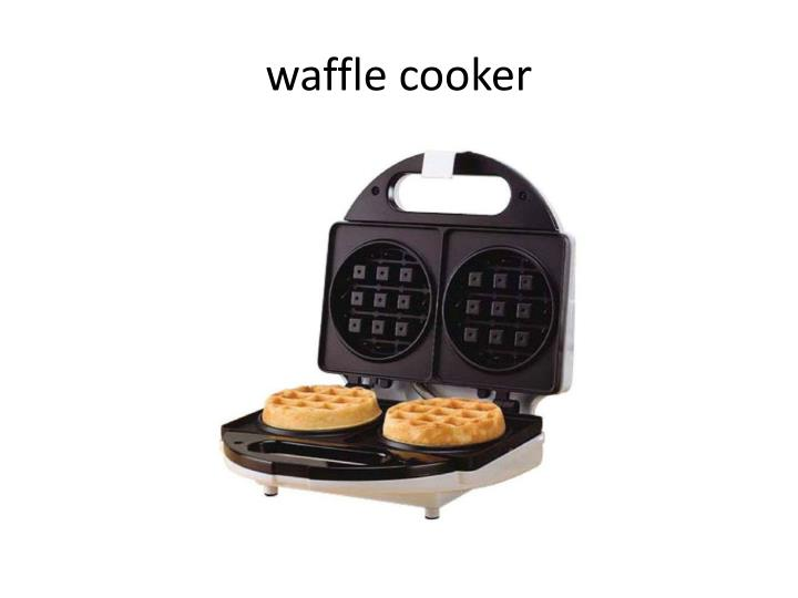 waffle cooker