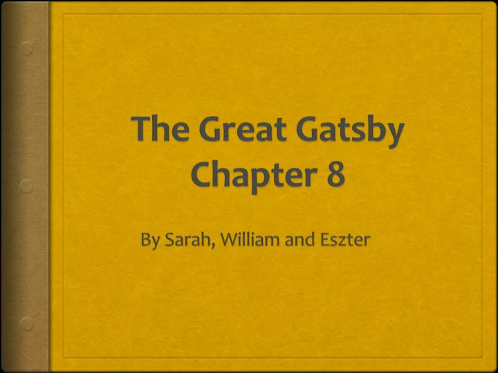 the great gatsby chapter 18 summary