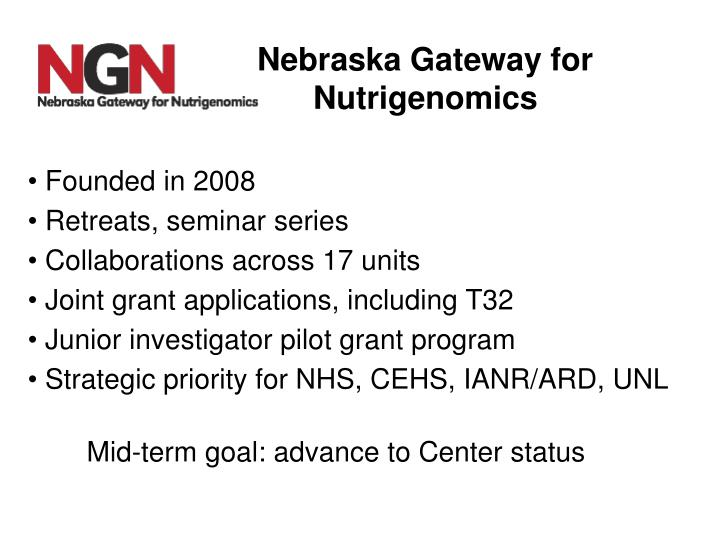Nebraska Gateway for