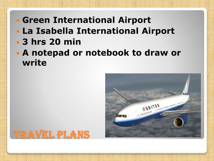 Green International Airport