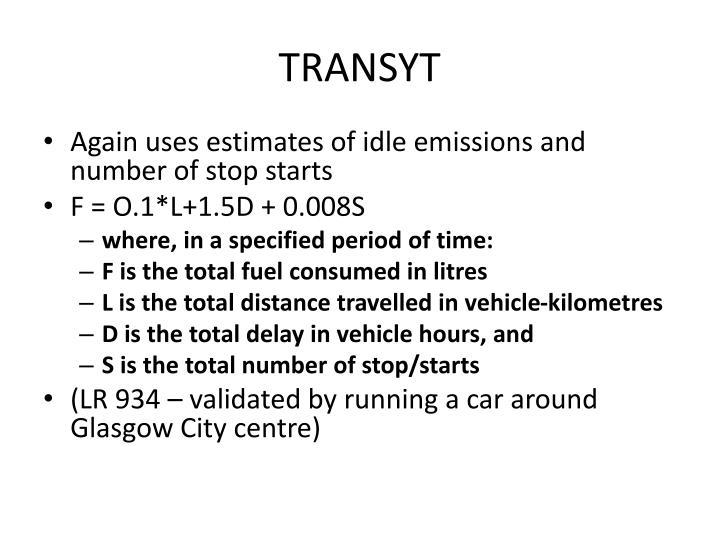 TRANSYT
