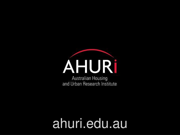 ahuri.edu.au