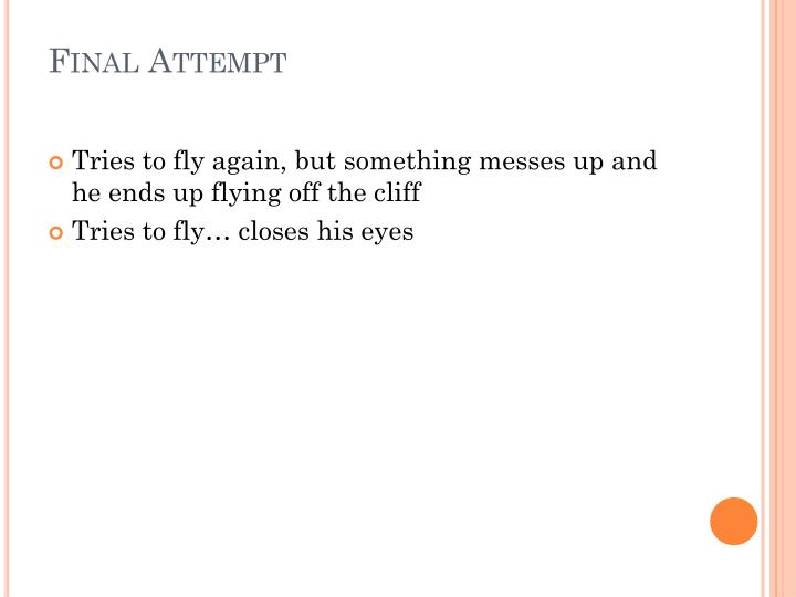 Final Attempt