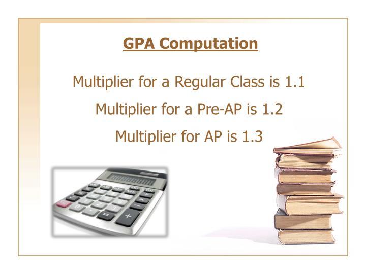 GPA Computation