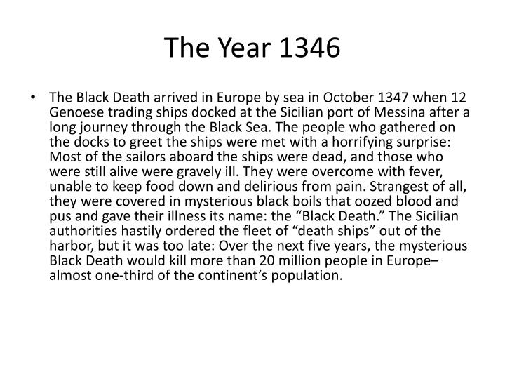 The Year 1346