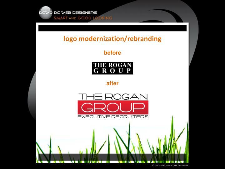 logo modernization/rebranding