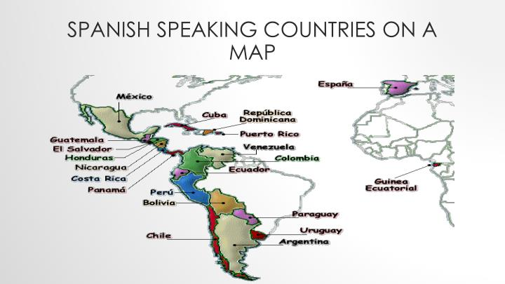 spanish speaking countries and their capitals - Khafre