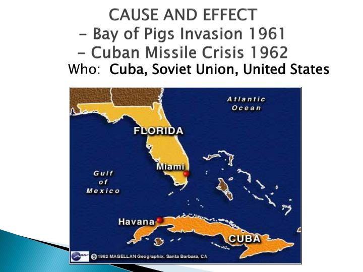 a comparison of the causes and impact of the cuban missile crisis and the cold war Differences in civilization affect a country's vision not only of the future but of the  past  the american mythology of the cuban missile crisis is familiar: an  aggressive  but how did cuba look from the windows of the kremlin during the  cold war at the  understand that an assault on cuba would have dire  consequences.