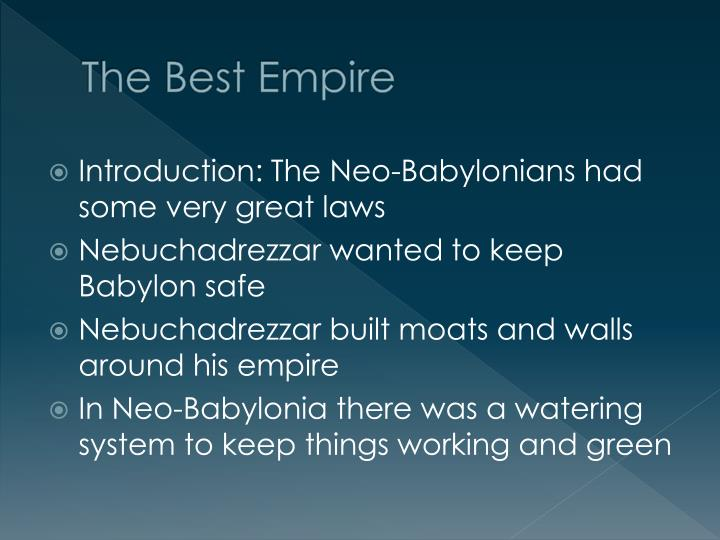 The Best Empire