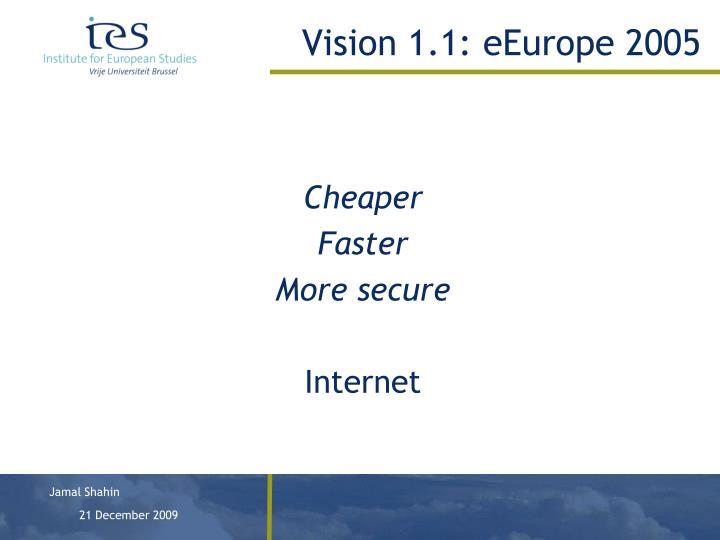 Vision 1.1: